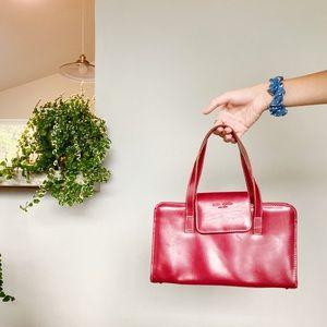 kate spade • red handbag